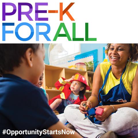 PE-K FOR ALL #OpportunityStartsNow
